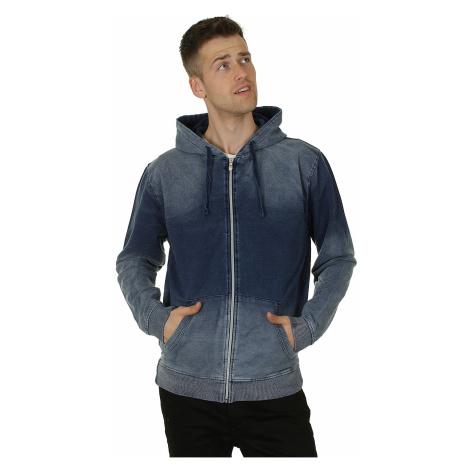 hoodie Urban Classics Denim Zip/TB482 - Original