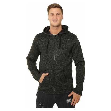 sweatshirt Outhorn SWM604 Zip - Deep Black Melange - men´s