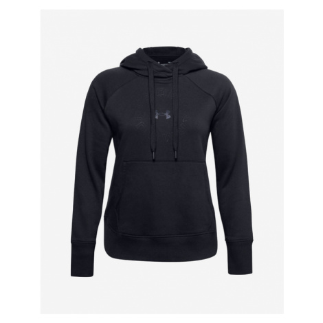 Under Armour Rival Fleece Metallic Sweatshirt Black