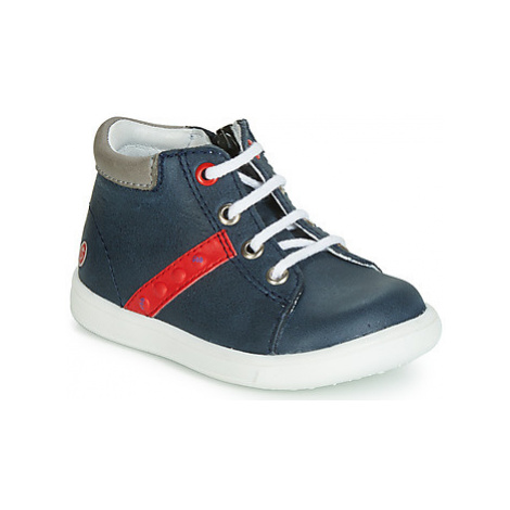 GBB FOLLIO boys's Children's Shoes (High-top Trainers) in Blue
