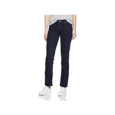 Wrangler Straight Blueblack W28TQC51L women's Jeans in Blue
