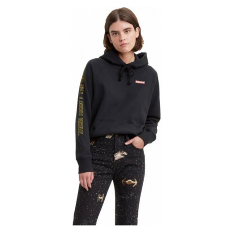 Levi's X STAR WARS GRAPHIC PULLOVER HOODIE black - Women's hoodie Levi´s