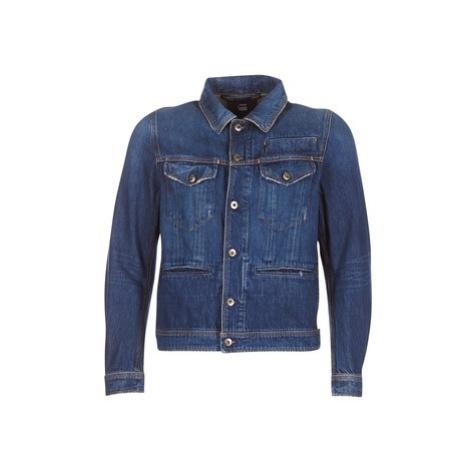 G-Star Raw D-STAQ 3D DC S JKT men's Denim jacket in Blue