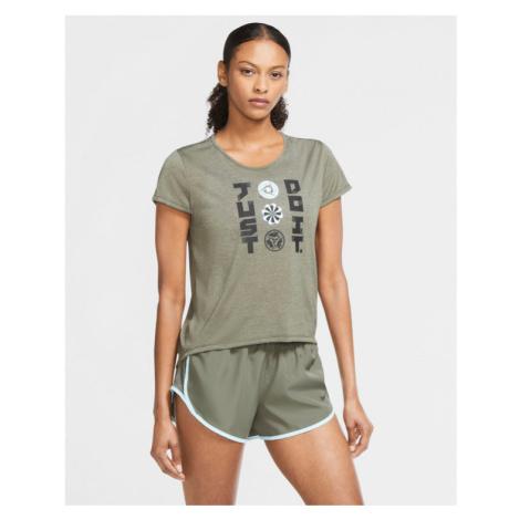 Nike Icon Clash Run T-shirt Green