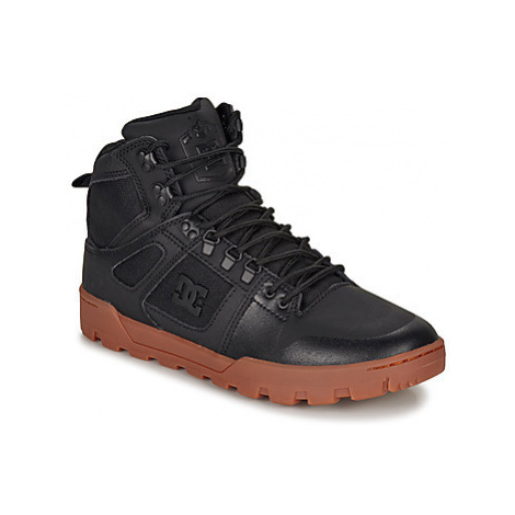 DC Shoes PURE HIGH-TOP WR BOOT men's Shoes (High-top Trainers) in Black