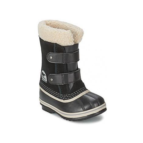 Sorel CHILDRENS 1964 PAC STRAP girls's Children's Snow boots in Black