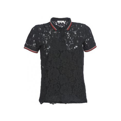 Kaporal BRIKS women's Polo shirt in Black