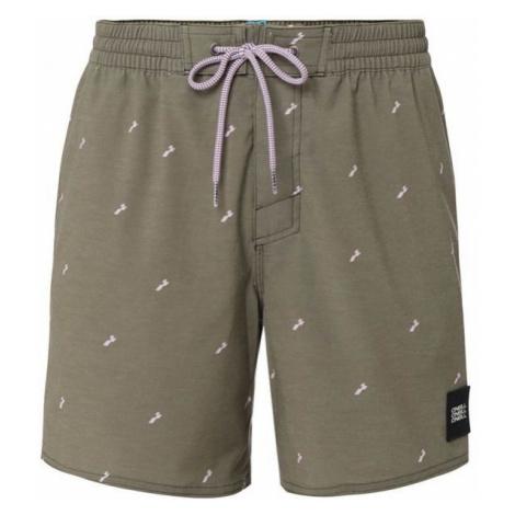 O'Neill PM STRUCKTURED SHORTS dark green - Men's water shorts