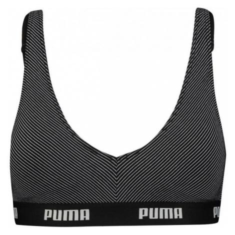 Puma METAL STRIPE BRALETTE 1P HANG black - Bra