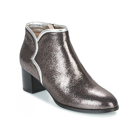 Mellow Yellow CALOUNA women's Low Ankle Boots in Grey