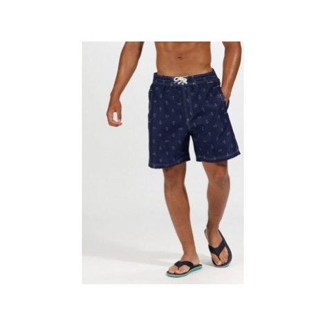 Regatta Hadden II Printed Swim Shorts Blue men's in Blue