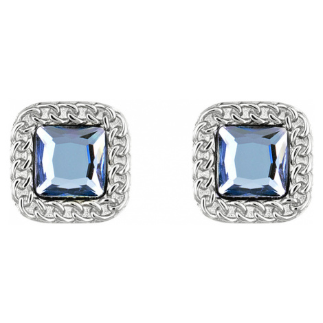 Liu Jo Earrings Blue Silver