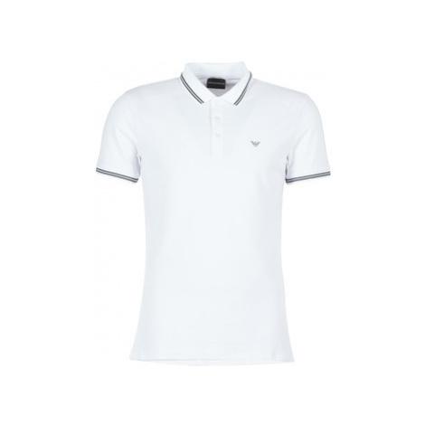 Emporio Armani TAMWU men's Polo shirt in White