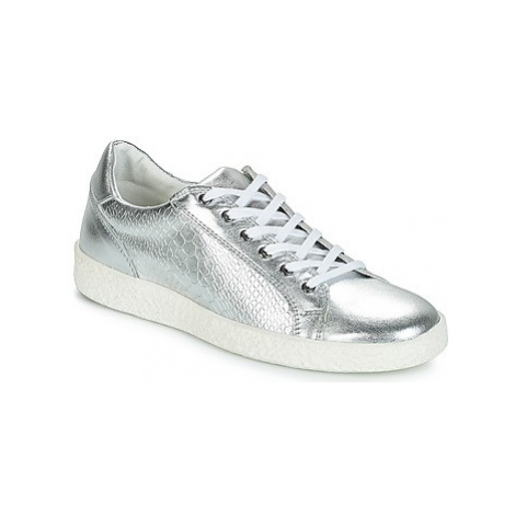 Yurban JUKKY women's Shoes (Trainers) in Silver