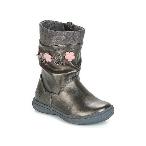 Chicco CLARA girls's Children's High Boots in Grey