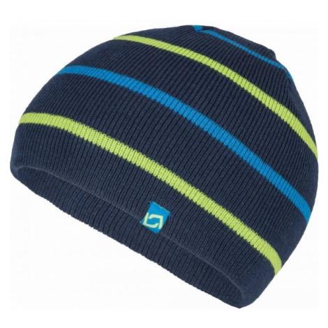 Lewro BENY dark blue - Boys' knitted hat