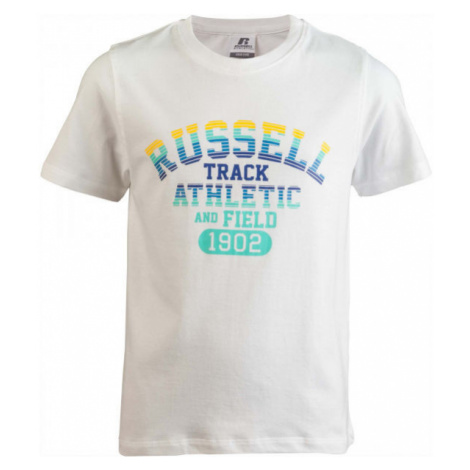 Russell Athletic TRACK SS/S CREWNECK TEE SHIRT white - Children's T-shirt
