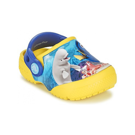 Crocs Crocs Funlab Dory girls's Children's Clogs (Shoes) in Yellow