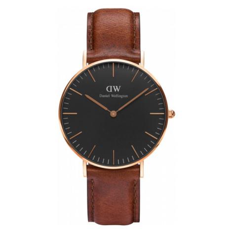 Unisex Daniel Wellington Classic Black St Mawes Watch 36mm Watch DW00100136