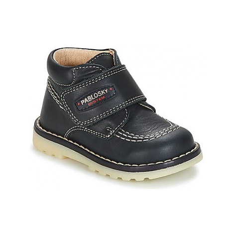 Pablosky BESSERA boys's Children's Mid Boots in Blue