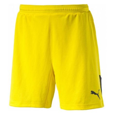 Puma STADIUM GK SHORT yellow - Men's goalkeeper shorts