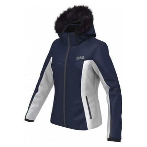 Colmar SKI JACKET ECO FUR dark blue - Women's skiing jacket