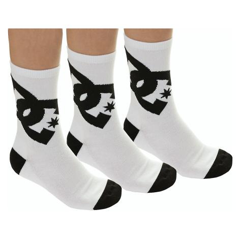 socks DC Crew 6 3 Pack - WBN0/White