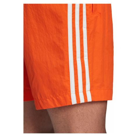 adidas Originals 3-Stripes Swimsuit Orange