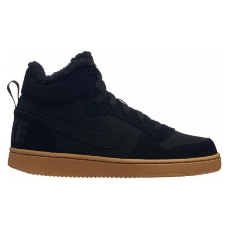 Nike COURT BOROUGH MID WINTER black - Children's ankle boots