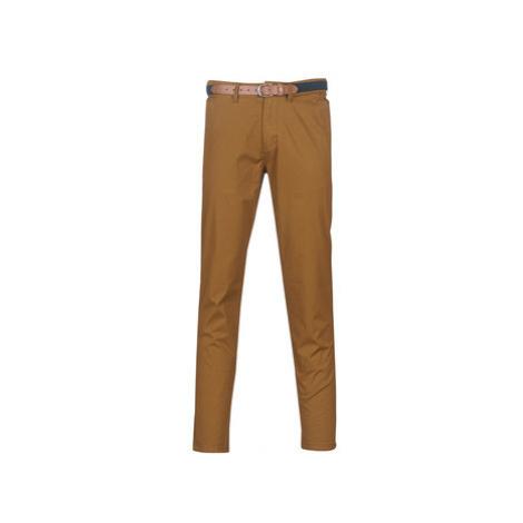 Selected SLHSLIM men's Trousers in Brown