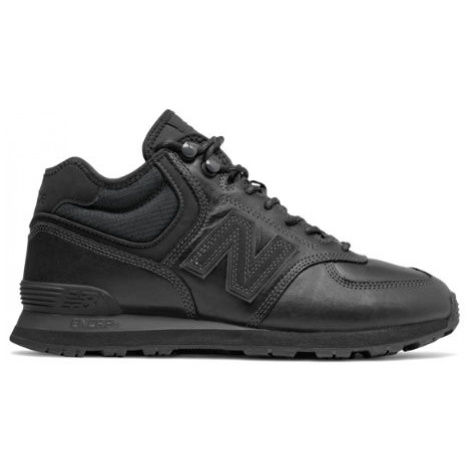 New Balance 574 Mid Shoes - Black