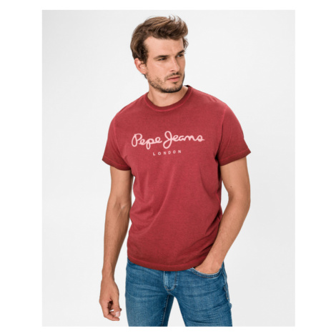 Pepe Jeans West Sir T-shirt Red