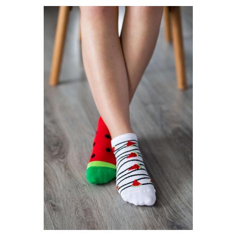 Barefoot Socks - Low-Cut - Watermelon 43-46