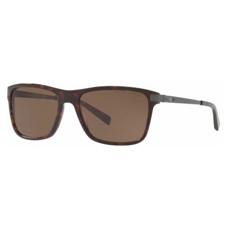 Ralph Lauren Man RL8155 - Frame color: Tortoise, Lens color: Brown, Size 57-17/140