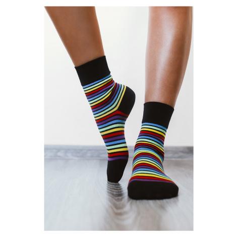 Barefoot Socks - Crew - Rainbow 39-42