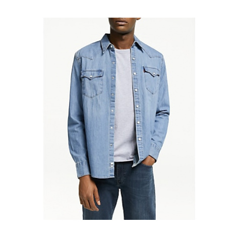 Levi's Barstow West Denim Shirt, Red Cast Stone Levi´s