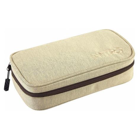 pencil case Nitro Pencil Case XL - Almond
