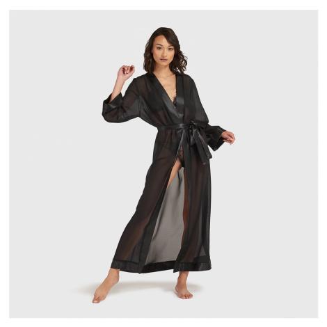 Long Kimono Black Bluebella