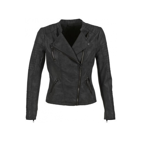 Only AVA women's Leather jacket in Black