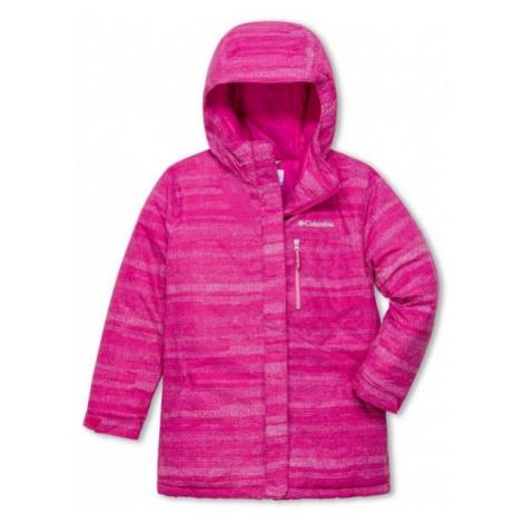 Columbia ALPINE FREE FALL II JACKET pink - Girls' winter jacket