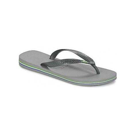 Havaianas BRASIL women's Flip flops / Sandals (Shoes) in Grey