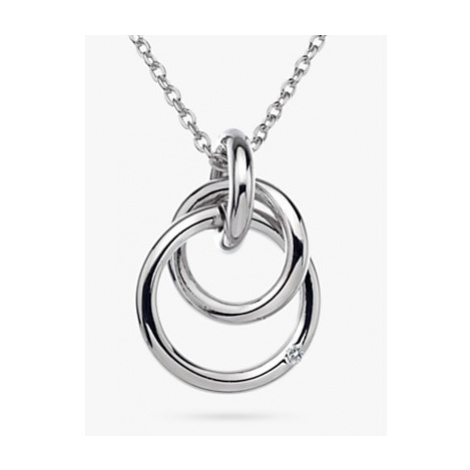 Hot Diamonds Eternity Pendant Necklace, Silver