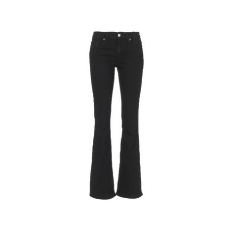 Betty London IALOLAO women's Bootcut Jeans in Black