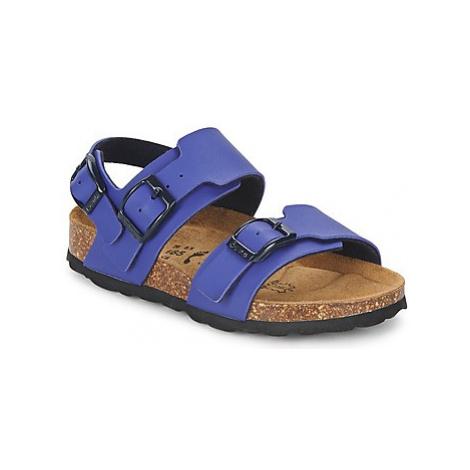 Betula Original Betula Fussbett GLOBAL 2 girls's Children's Sandals in Blue
