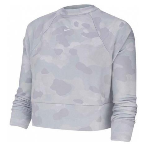 Nike REBEL DRY FC CW CAM grey - Women's sweatshirt