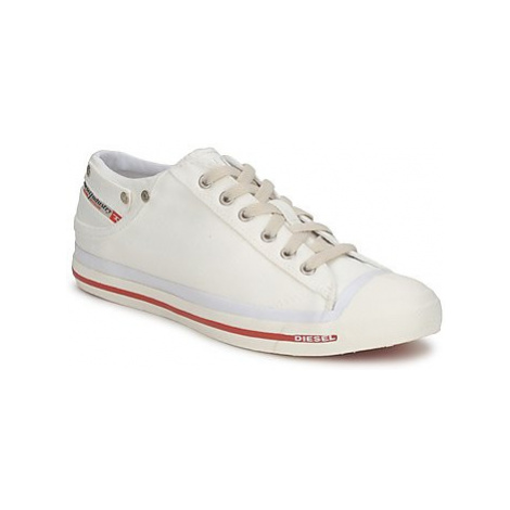 Diesel EXPOSURE LOW men's Shoes (Trainers) in White