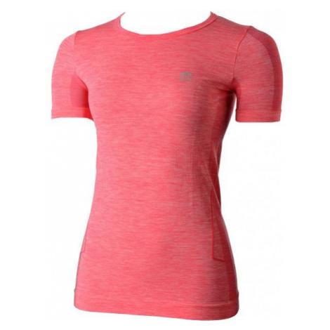 Mico W HALF SLVS R/NECK SHIRT SKIN pink - Women's functional T-shirt