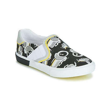 Catimini CAMAZO boys's Children's Slip-ons (Shoes) in Black