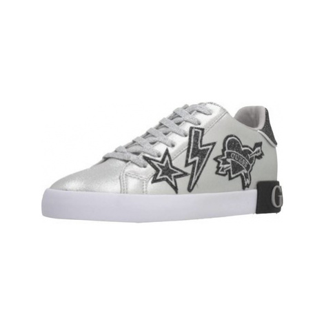 Guess FL8PAH ELE12 women's Shoes (Trainers) in Silver