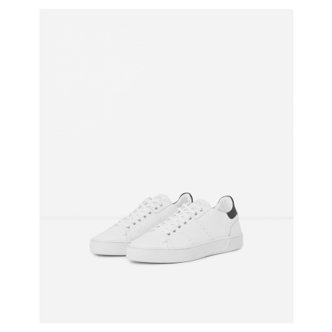 The Kooples - White leather trainers thick soles - MEN